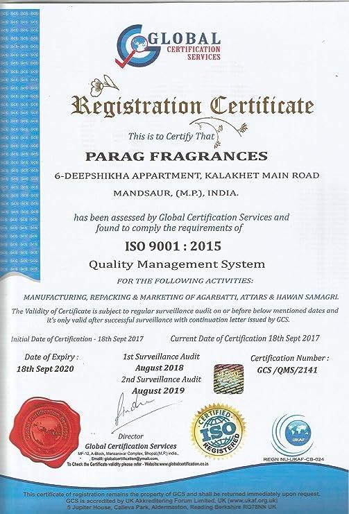 Parag Fragrances Gulab Attar, Kasturi Attar, Oud Attar And Chandan/Sandal  Attar - 3 Ml- 4 Pcs
