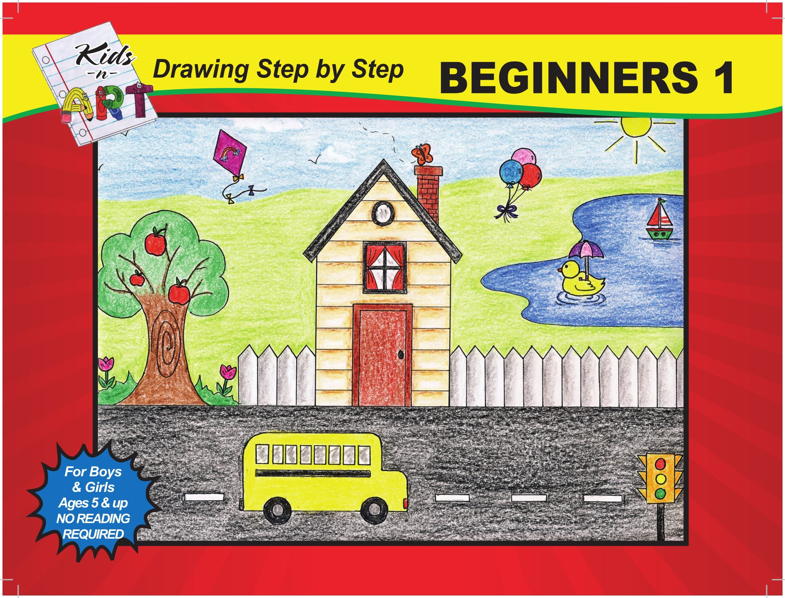 Step By Step Drawing Book For Kids How To Draw With Simple Steps