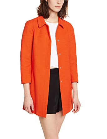 United Colors Of Benetton Damen Mantel 3 4 Sleeve Light Weight Coat