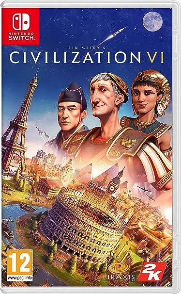 Sid Meiers Civilization Vi - Nintendo Switch [Importación ...