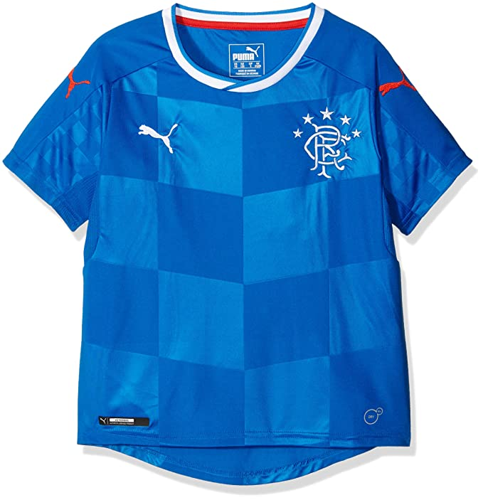 Amazon.com : PUMA 2016-2017 Rangers Home Football Shirt (Kids) : Sports & Outdoors