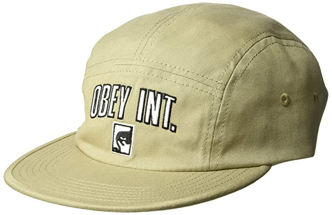 79105d43a9b Obey Men s International 5 Panel Camp HAT
