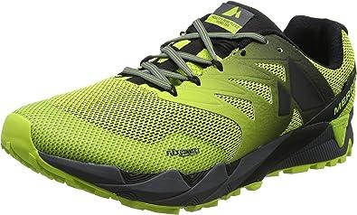 Merrell Agility Peak Flex 2 Gore-Tex, Zapatillas de Running para Asfalto para Hombre, Verde (Acid Lime), 49 EU: Amazon.es: Zapatos y complementos