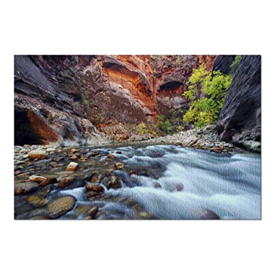 Zion National Park, Utah - Narrows 9000199 (Premium 1000 Piece Jigsaw Puzzle for Adults, 20x30, Made in USA!): Toys & Games