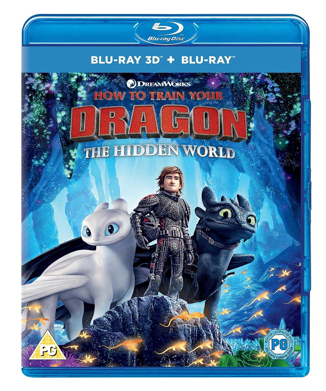 Amazon Com How To Train Your Dragon The Hidden World Blu Ray 3d Blu Ray Digital Download 2019 Region Free Jay Baruchel America Ferrera F Murray Abraham Cate Blanchett Gerard Butler Craig