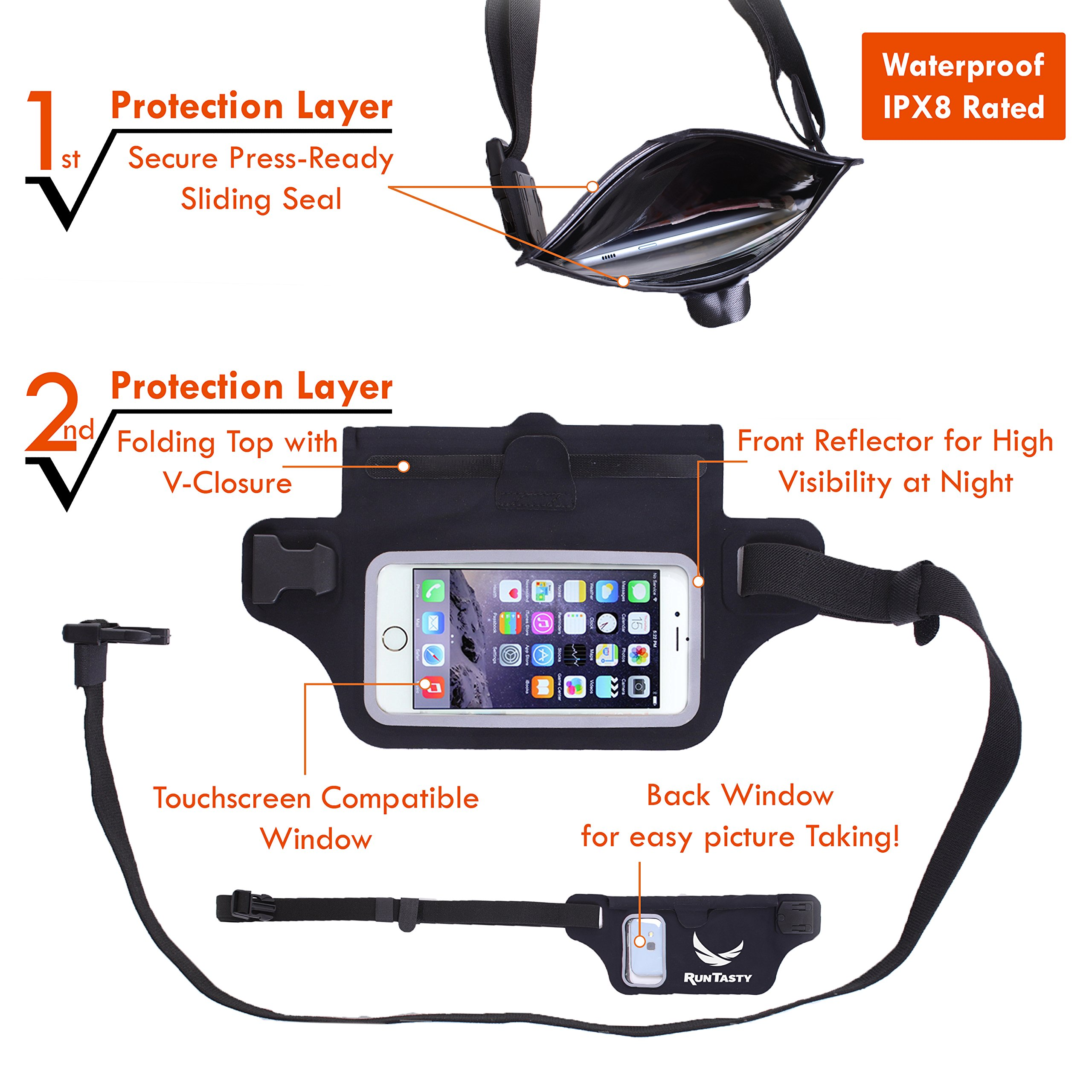 ⚡New Waterproof Running Belt Fanny Pack - TiendaMIA com
