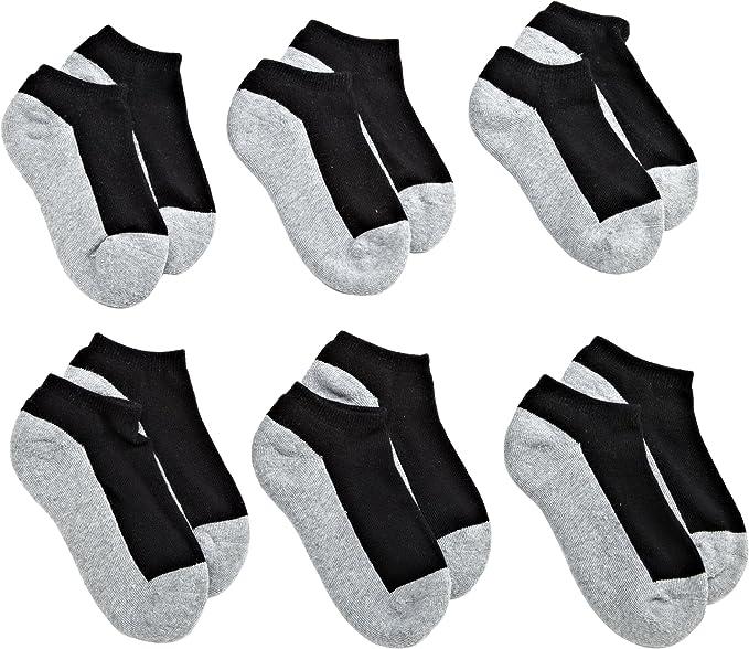Jefferies Socks Boys Seamless Sport Socks 12-Pack
