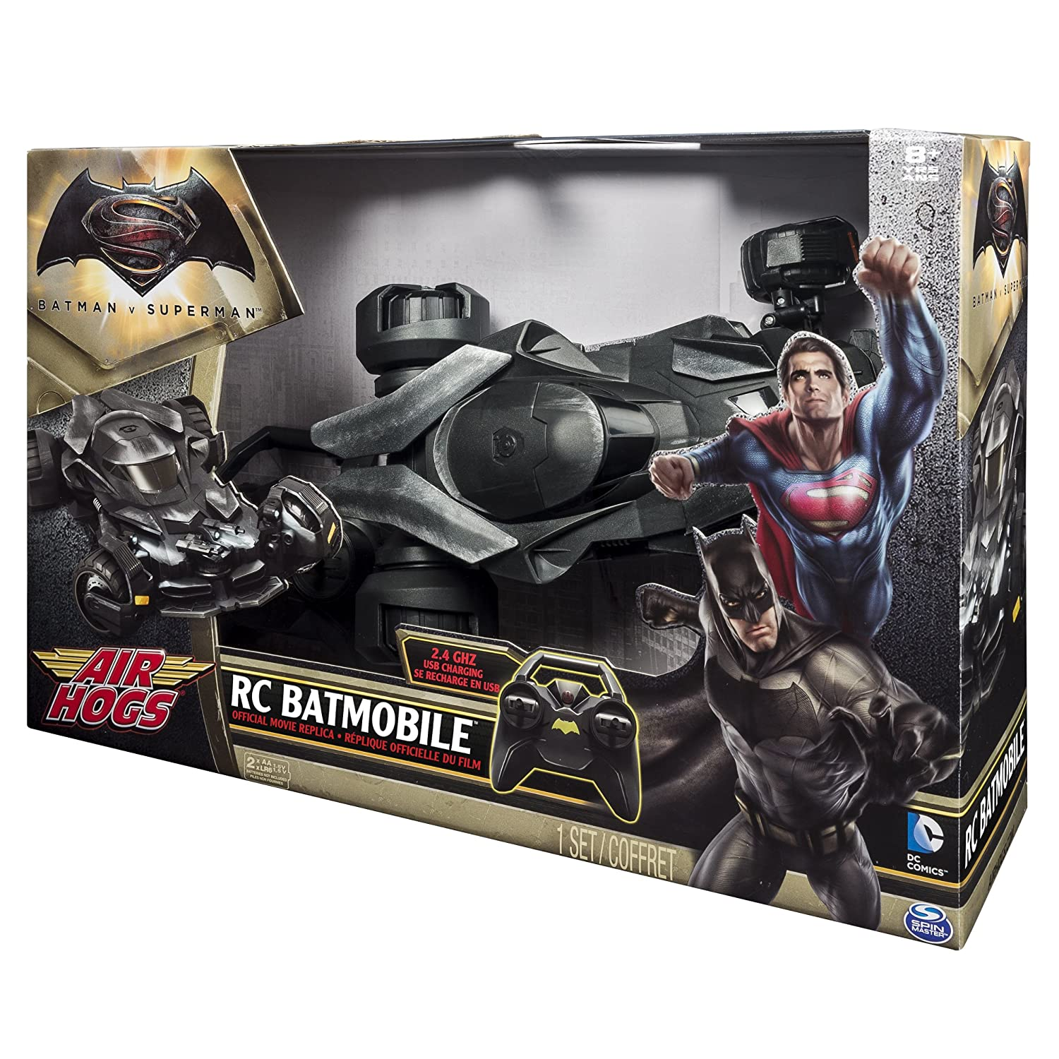 Air Hogs Batmobile Remote Control Vehicle Kids Rc Vehicle Play Toy