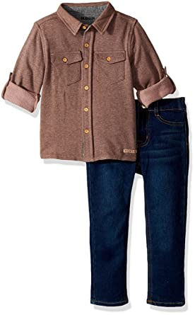 021bf1649 Amazon.com  HUDSON Baby Boys  Toddler French Terry Set  Clothing