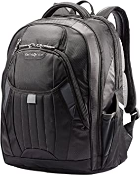 Tectonic 2 Large Backpack, Black, 18 x 13.3 x 8.6