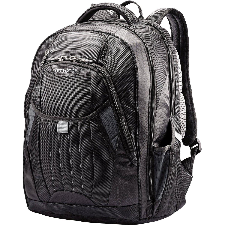 Samsonite Tectonic 2 Large Backpack, Black, 18 x 13.3 x 8.6