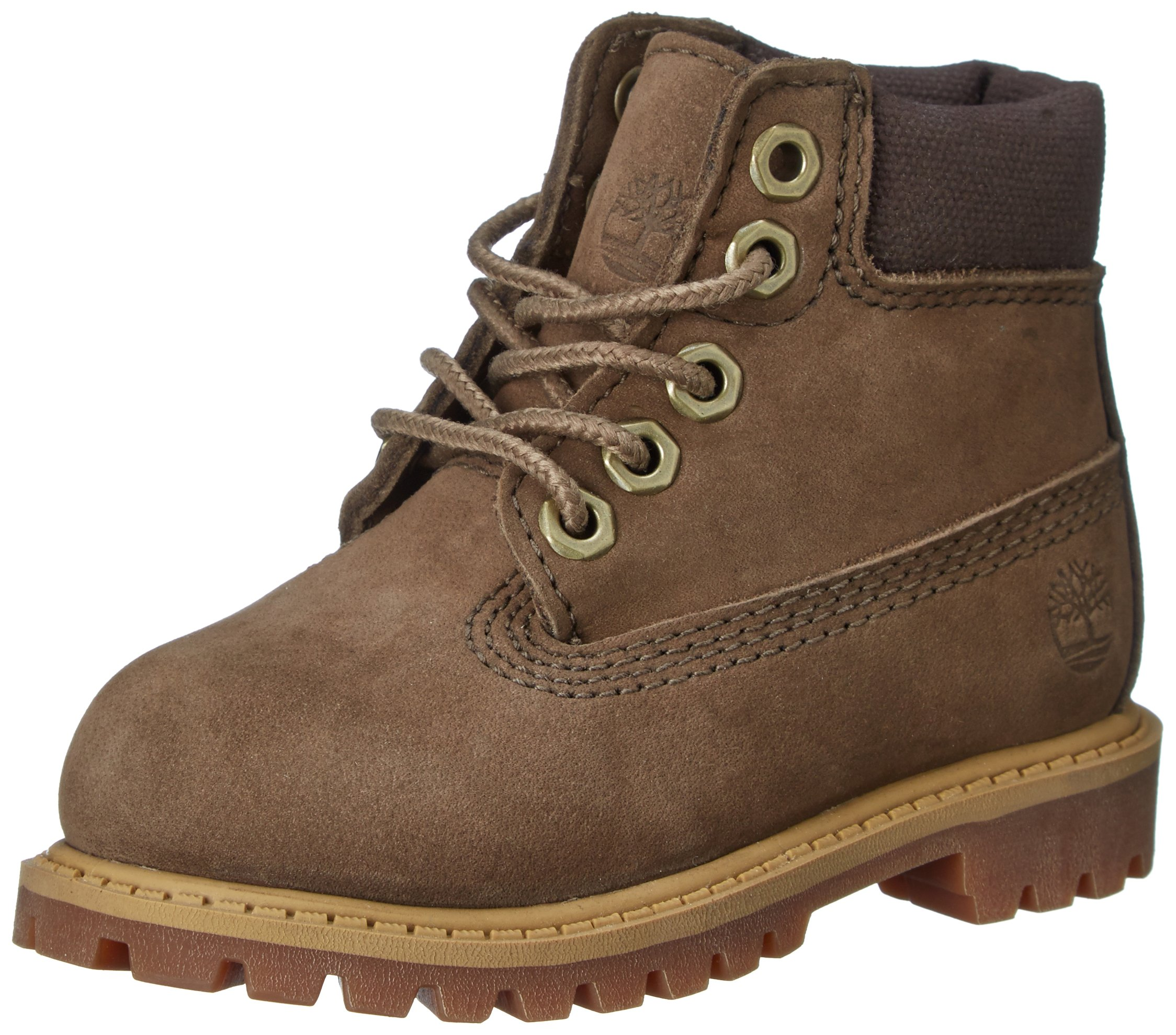 Timberland 6'' Classic Waterproof Boot (Toddler/Little Kid/Big Kid),Canteen,13 M US Little Kid