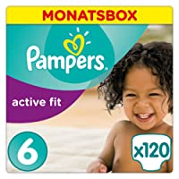 Pampers Active Fit Gr.6 Extra Large 15+kg MonatsBox