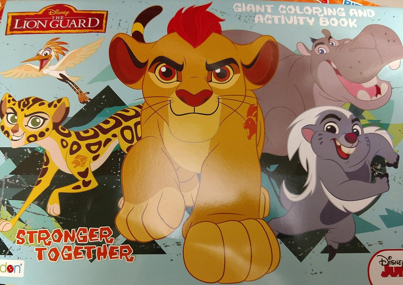 4SGM 11 X 16 JR Lion Guard Activity PAD 4SGM 11 X 16/' JR Lion Guard Activity PAD 19877