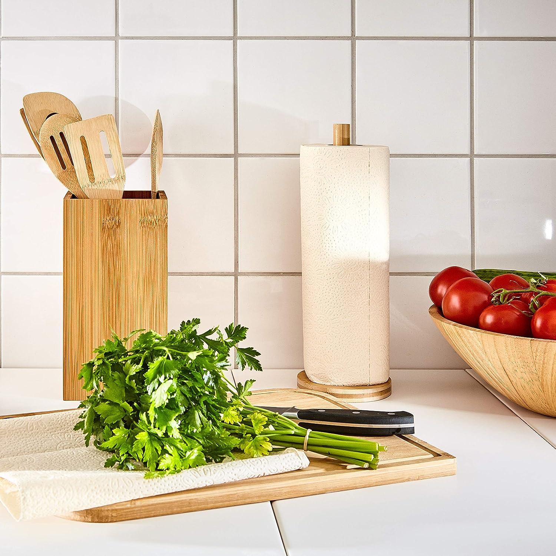 3 rotoli bambuswald/© Carta cucina eco in bamboo rotolo carta cucina 2 veli carta asciugatutto ultra assorbente ideale per casa