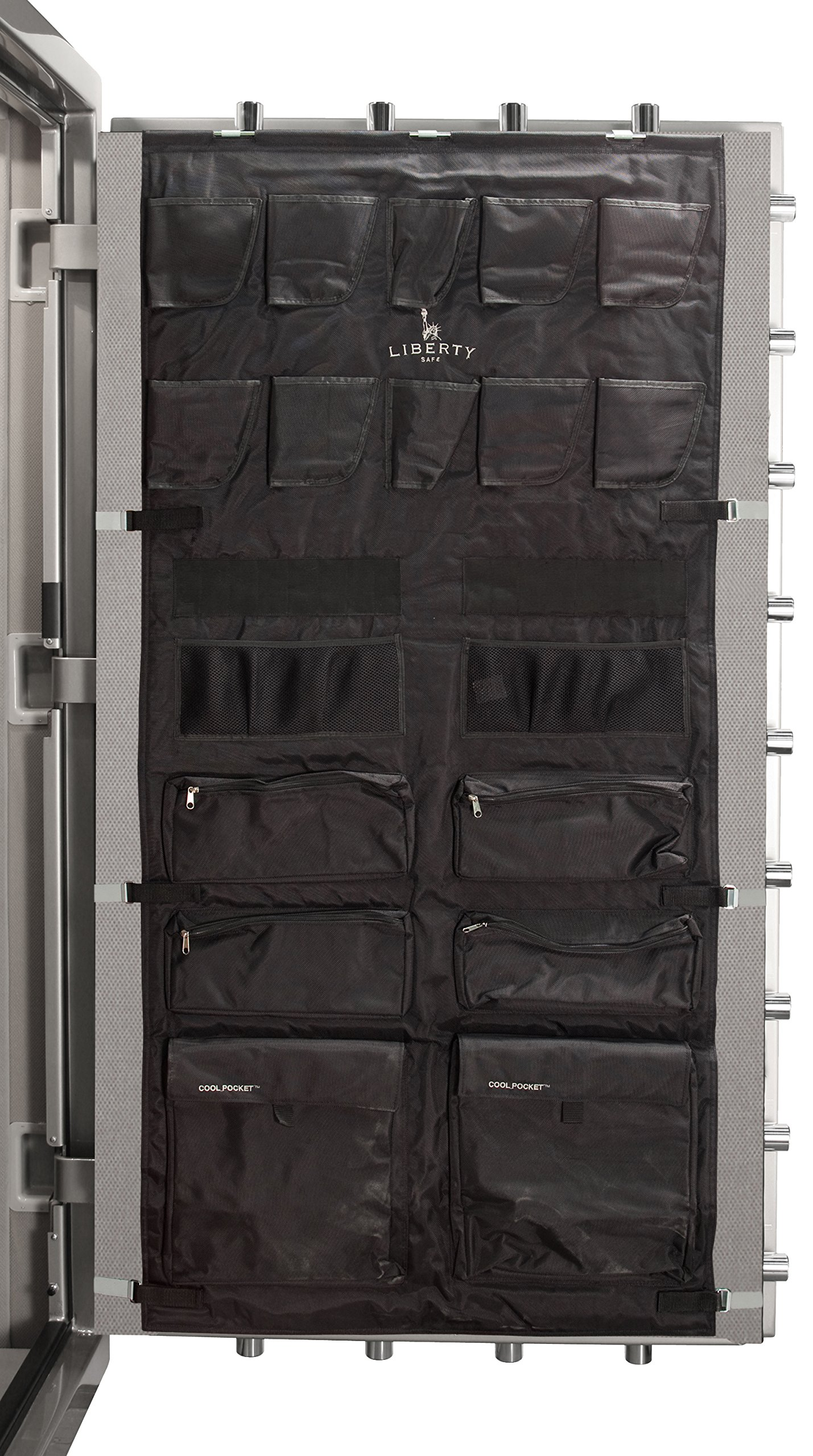 Liberty Gun Safe Door Panel Organizer 10588 Size 50 (29.5 x 62) for 72 Inch Tall Safes by Liberty Safe (Image #1)