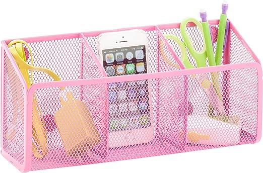 U Brands Locker Style 5pc Locker Accessory Kit Pink NEW!!