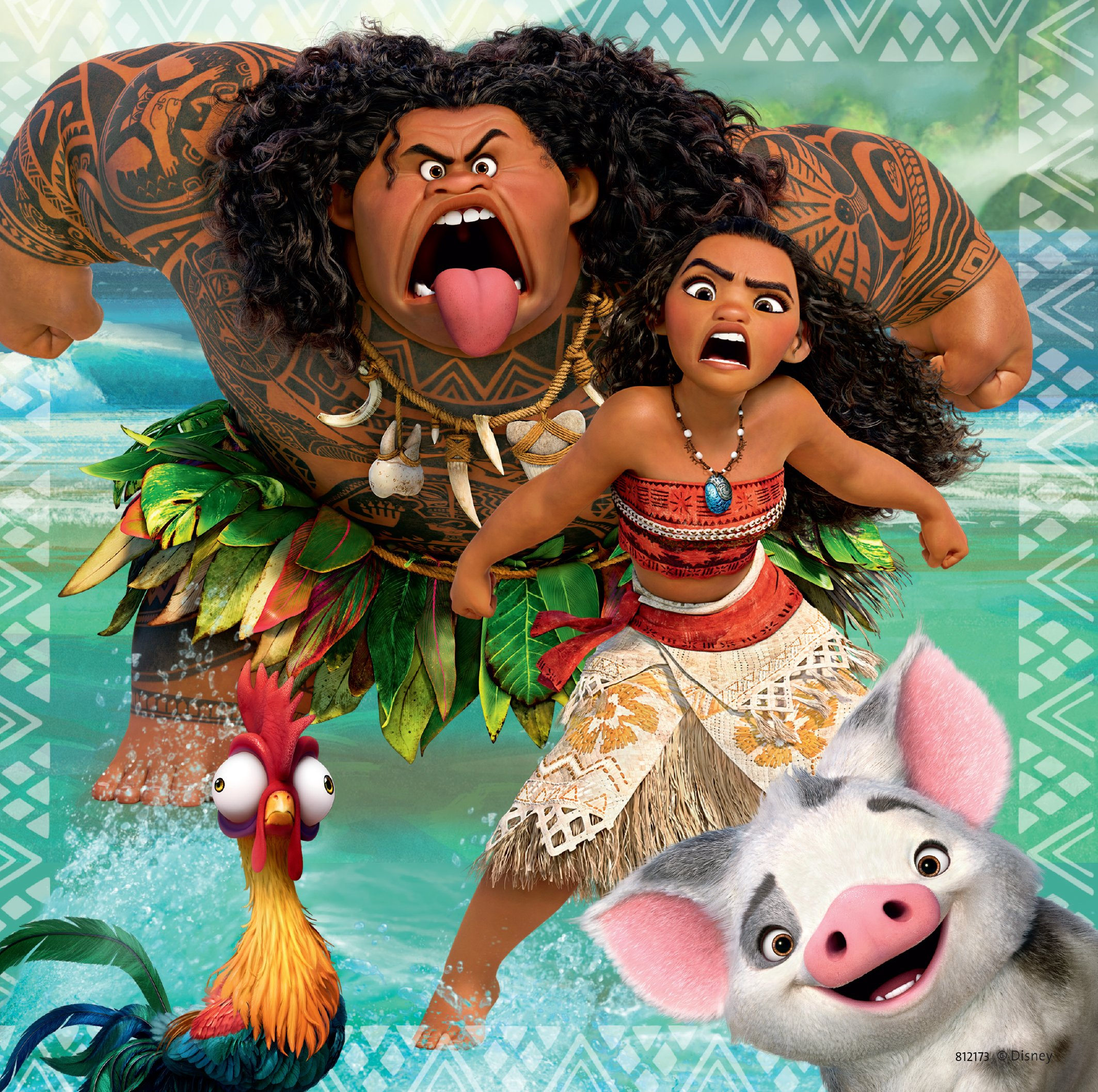 Ravensburger Disney Moana Born To Voyage 49 Piece Jigsaw Puzzle for Kids – Every Piece is Unique, Pieces Fit Together Perfectly by Ravensburger (Image #3)