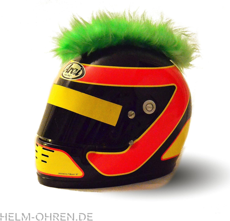 Crosshelm Schwarz-Gelb Motocrosshelm oder Skihelm Helm-IrokeseSchwarz-Gelb f/ür den Motorradhelm Irokesenaufsatz Punk der HINGUCKER Helm-Aufkleber verwandelt den Helm in ein EINZELST/ÜCK