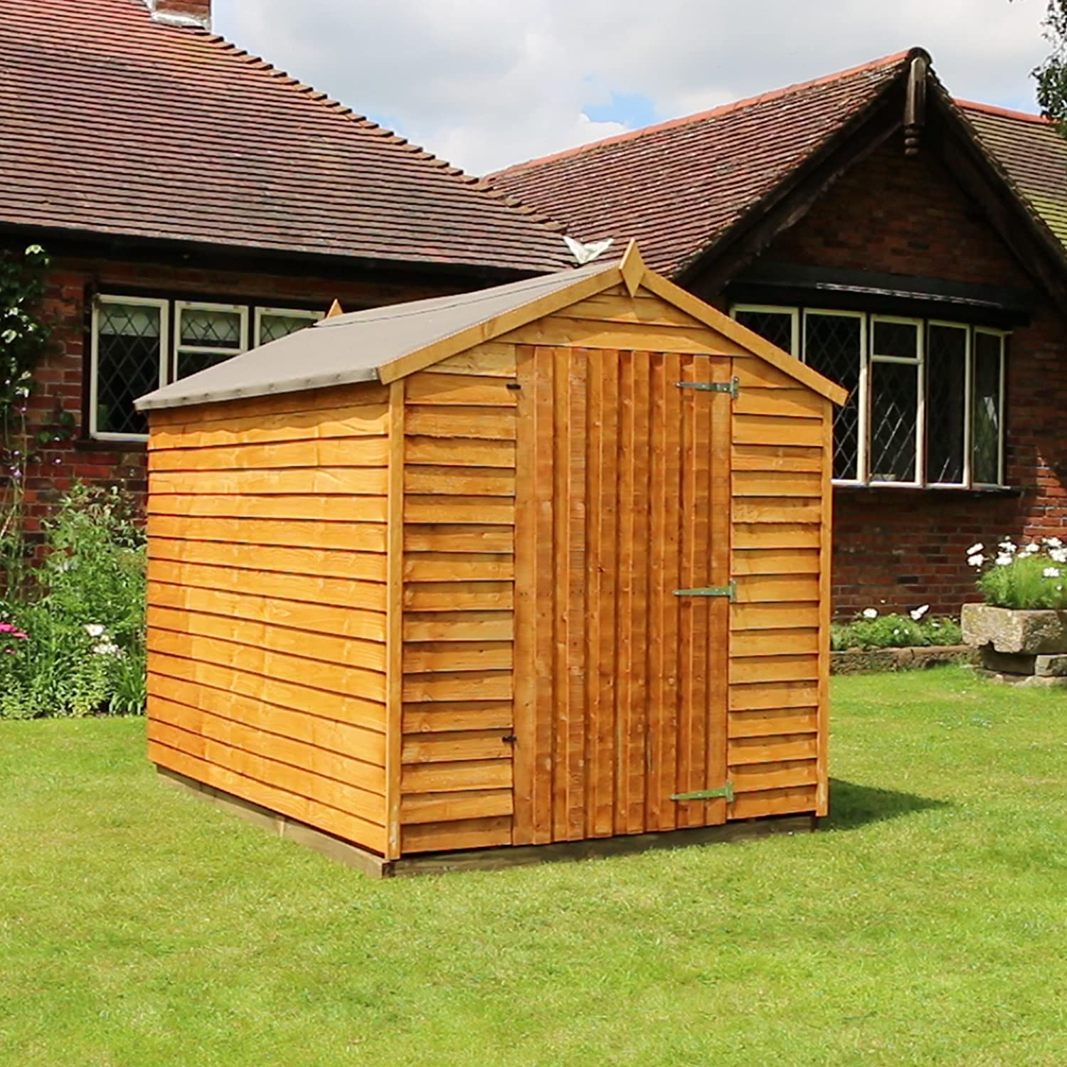 sheds t g outdoor itm double offset shiplap shed pent storage wooden tongue garden and doors groove roof