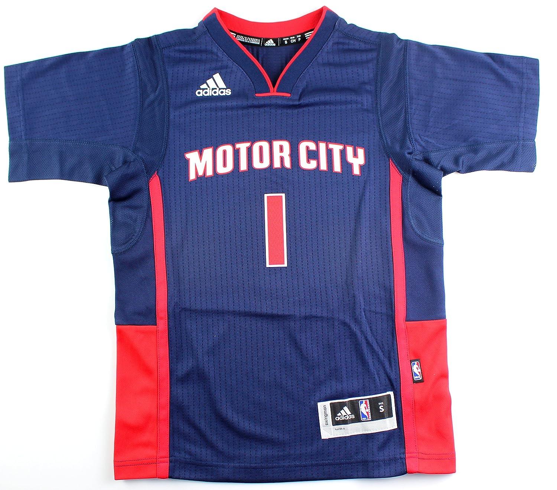 adidas Reggie Jackson Detroit Pistons NBA # 1 Juventud Nueva ...