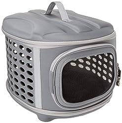 PET MAGASIN Caisse Douce pour Animaux, Pliable et légère avec Une Ventilation supérieure, chenil ou cachette Durable et Confortable, pour l'intérieur, l'extérieur (Voyage)
