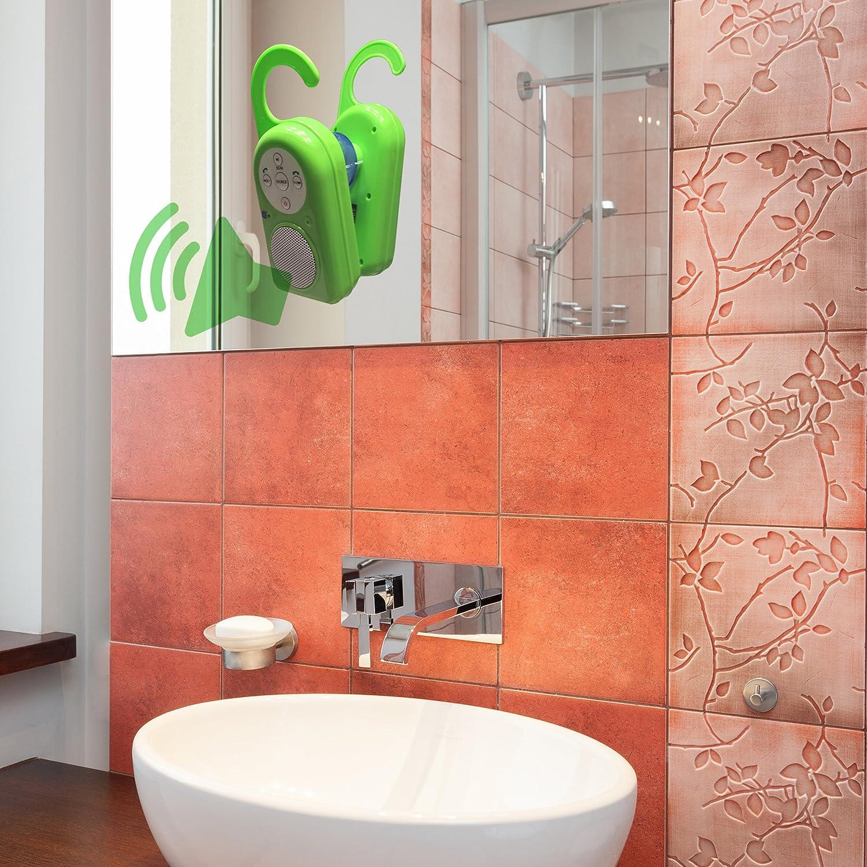 Hangs On Doorknob Shower Rod Rack Built In Speakerphone Receive Calls In Bathroom Brand Perfect Life Ideas Tm Cell Phones