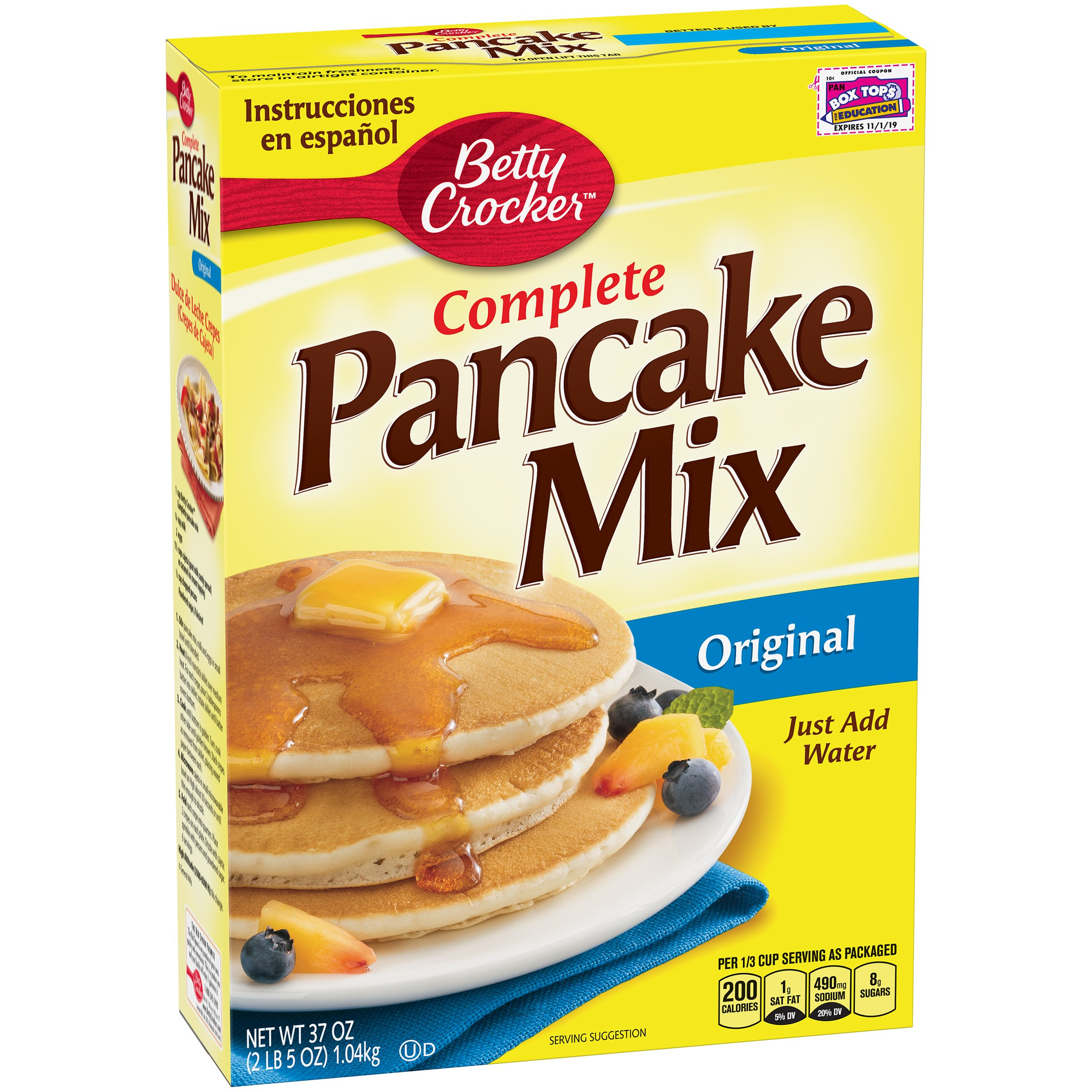 Betty Crocker Complete Pancake Mix, 37 oz by Betty Crocker