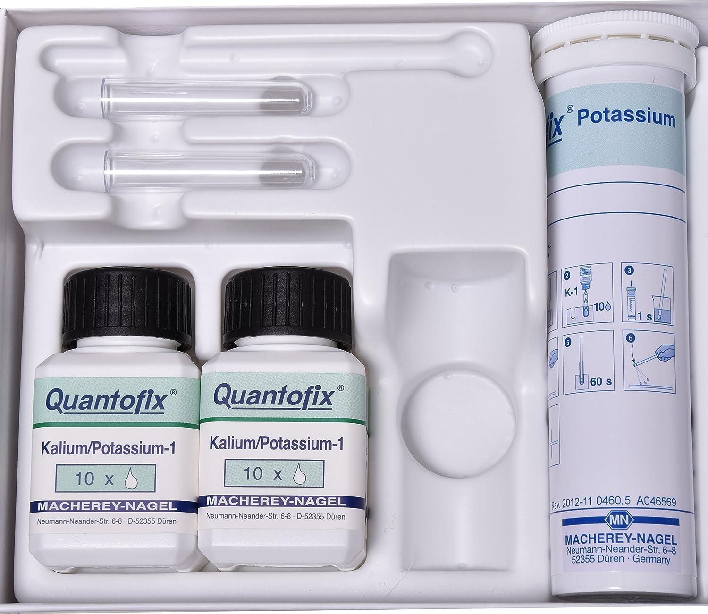 Quantofix 1138906 Potassium Test Stick, Included Reagents UN 3316 Chemical Kit 9 II, 0.05 kg, 6 mm x 95 mm (Pack of 100)