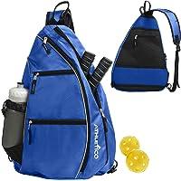 Athletico Sling Bag - Mochila bandolera para Pickleball, tenis, raquetbol y viajes para hombres y mujeres