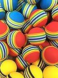 ゴルフ ウレタン スポンジ 練習 ボール と 収納 袋 セット えらべる カラー