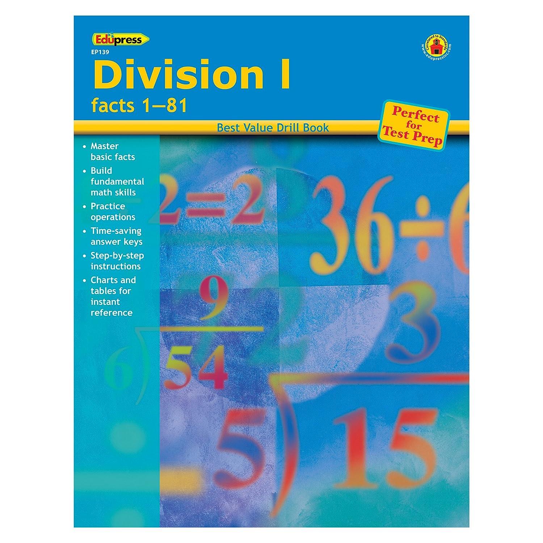 Amazon.com: Edupress EP-139 Division I - Facts 1-81 Book, 0.13 ...