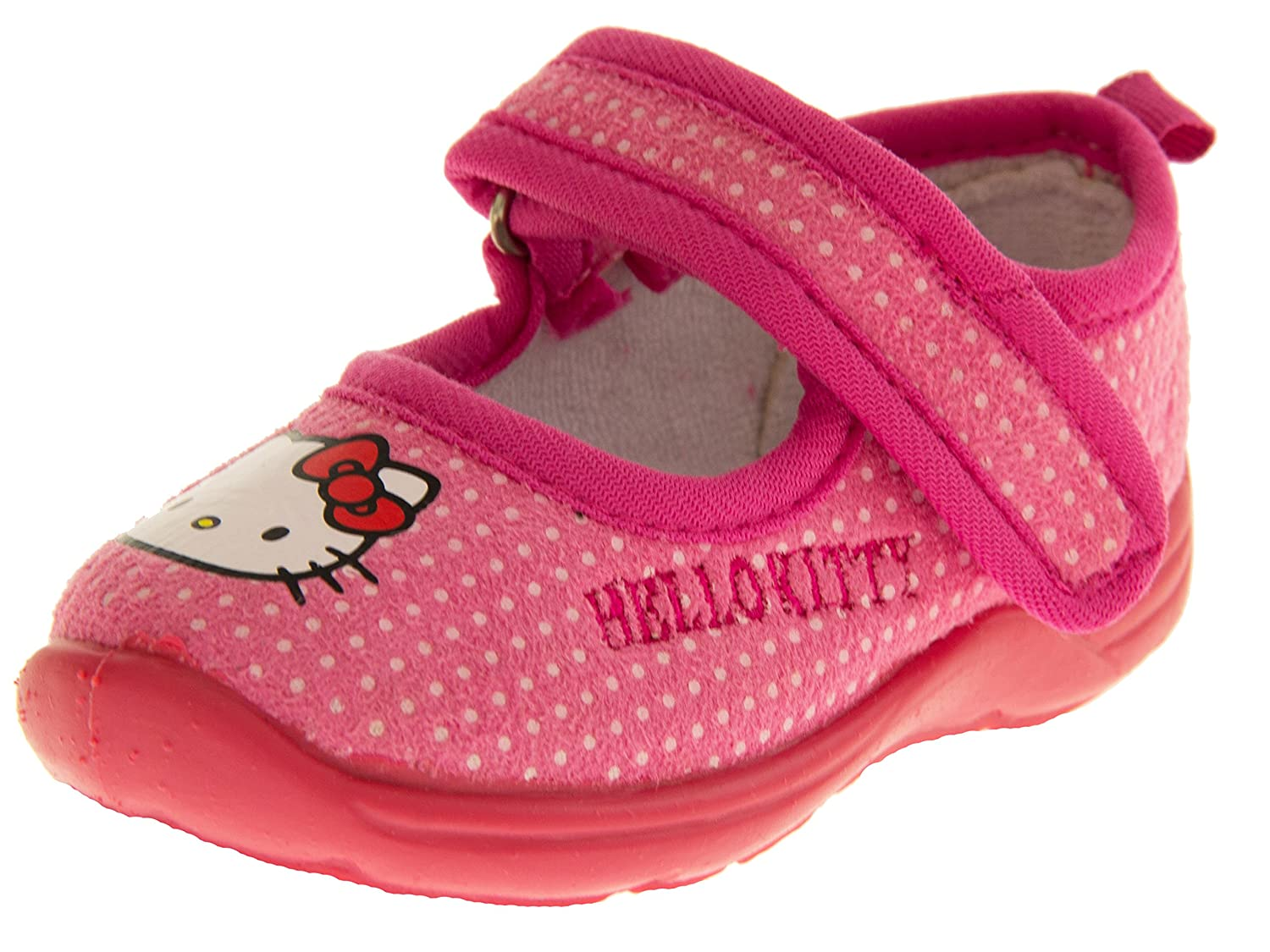 Confortable et chaud pour fille HELLO KITTY Casual Ballerines Chaussons Mary Jane Chaussures