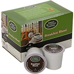 Green Mountain Coffee Breakfast Blend, Keurig K-Cups
