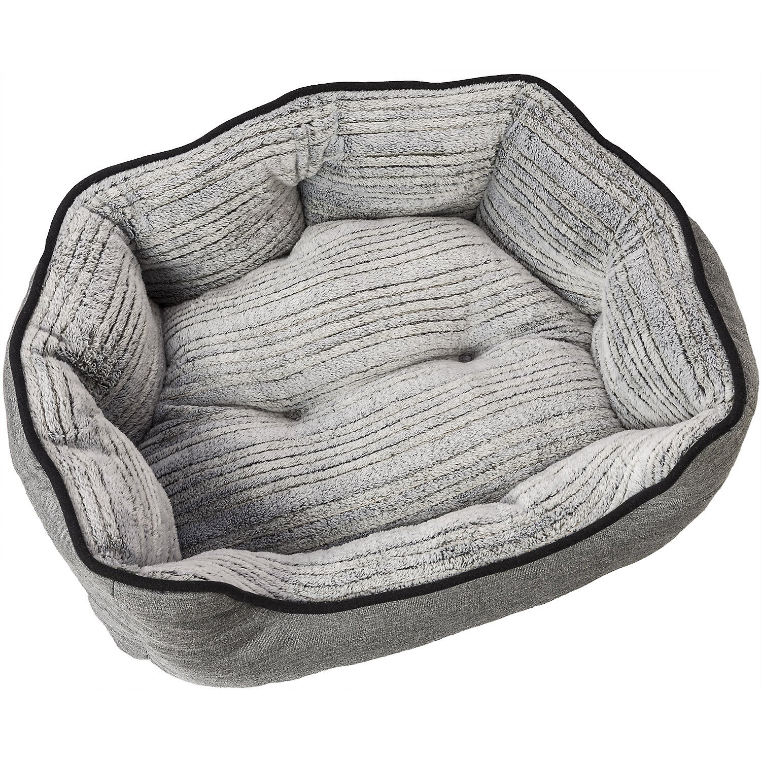 24 Inch Ethical Pets Sleep Zone Clam Shell Pet Beds