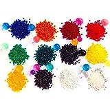 Zenball 4.500 Wasserperlen Aqualinos Perlen Gelperlen in 12 Farben | nach Farben getrennt | 4.500 Stück