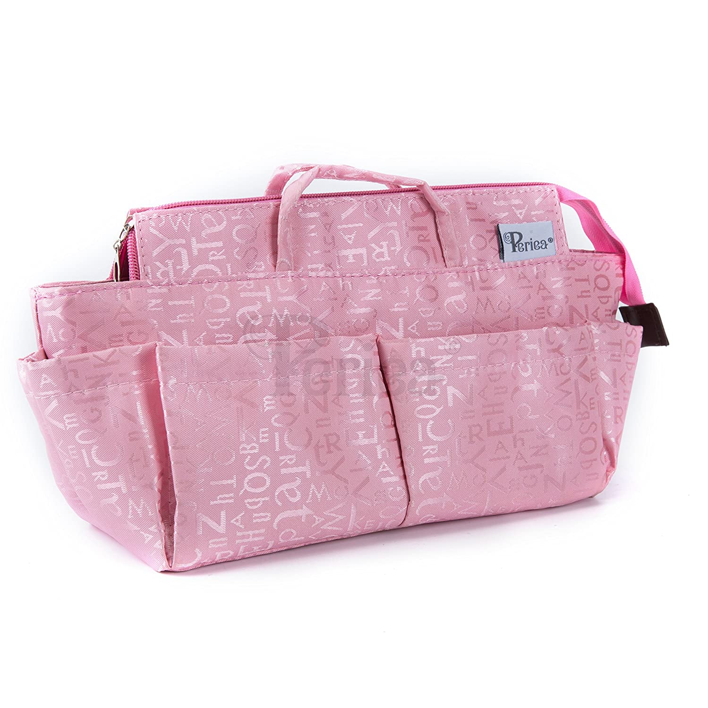 Periea Organiseur de sac à main, 12compartiments–Keriea (Rose)