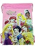 Disney Princesses Drawstring Backpack Light Pink