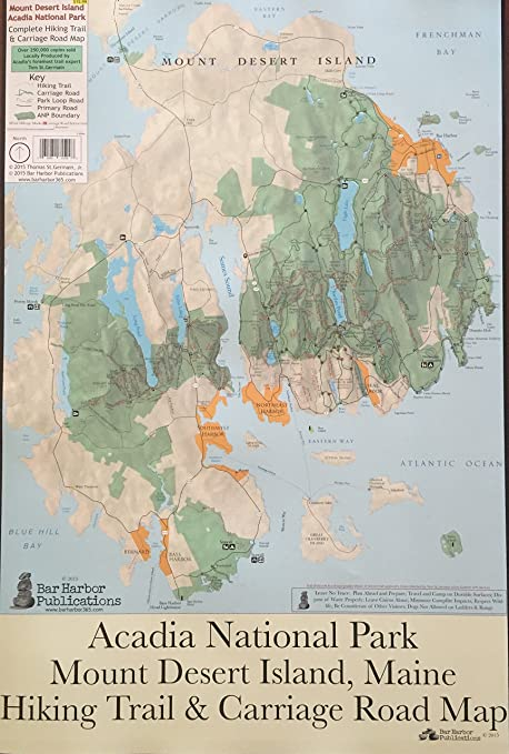 Amazon.com : Mount Desert Island Acadia National Park Complete ...