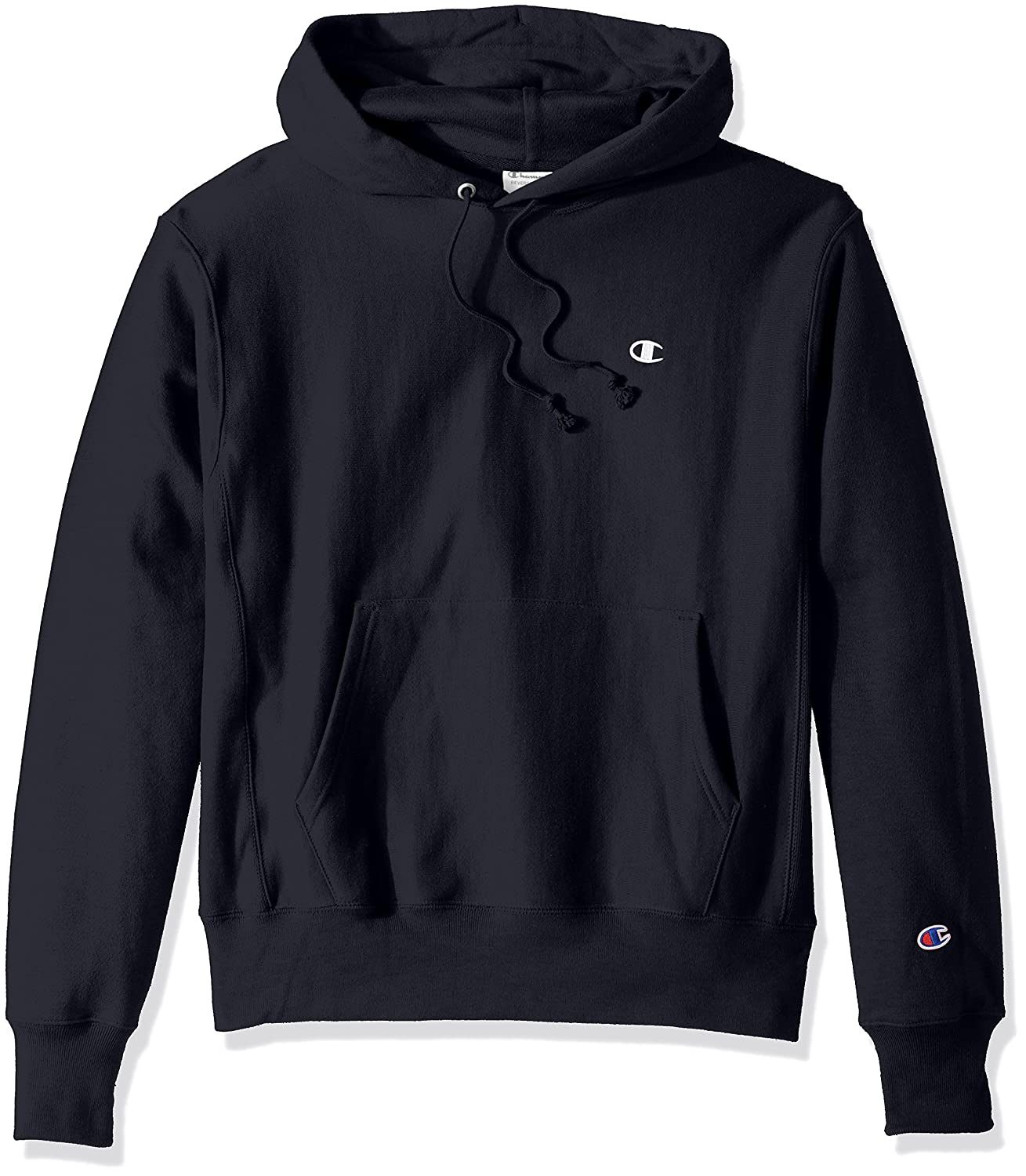 Navy Left Chest  C  Logo XXL Champion - Sweat à Capuche Homme