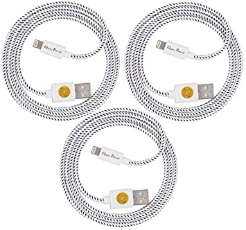 Sweepstake iphone charger cords 3 pack