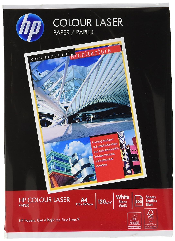 HP CHP342 - Carta Color Laser per stampanti, grammatura 120 g/m², formato A4, risma da 500 fogli Hewlett Packard