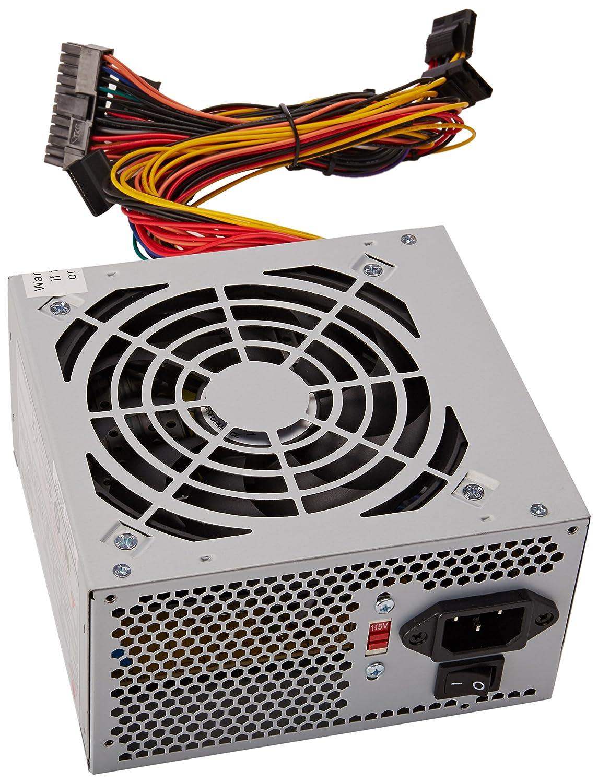 Amazon.com: Coolmax I-500 500W ATX 12V V2.0 Power Supply: Computers ...