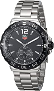 TAG Heuer Mens WAU1110.BA0858 Formula 1 Black Dial Stainless Steel Quartz Watch