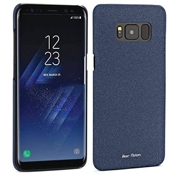best service 1c0c8 a6cdd Bear Motion Case for Galaxy S8 Plus - Slim Case for Samsung Galaxy S8 Plus  2017 Release - S8 Plus Sand (Blue)