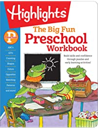 The Big Fun Preschool Workbook (Highlights™ Big Fun Activity Workbooks)