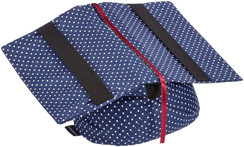Klein & More Leselotte 11304 - Supporto per libri, colore: Blu a pois Klein & More Home Living