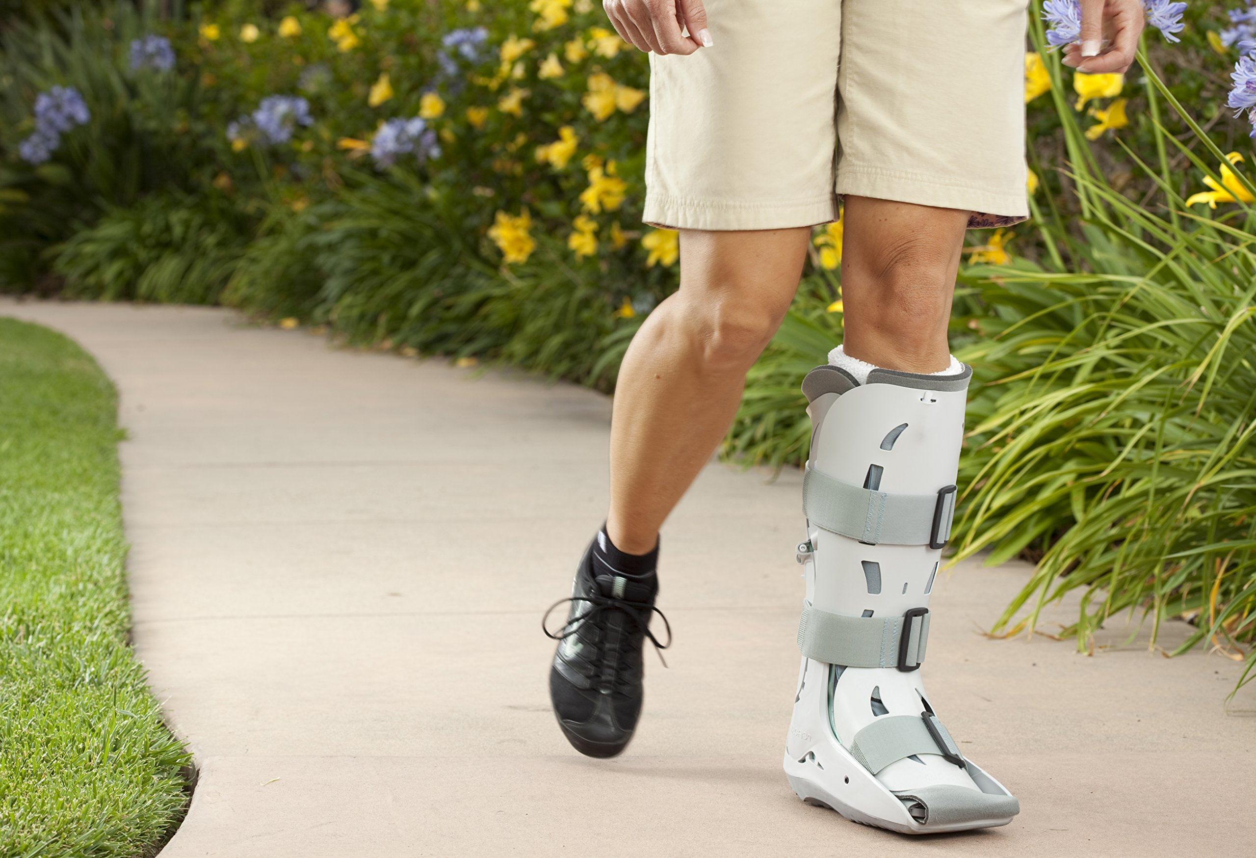 Aircast XP (Extra Pneumatic) Walker Brace / Walking Boot, Large by Aircast (Image #6)