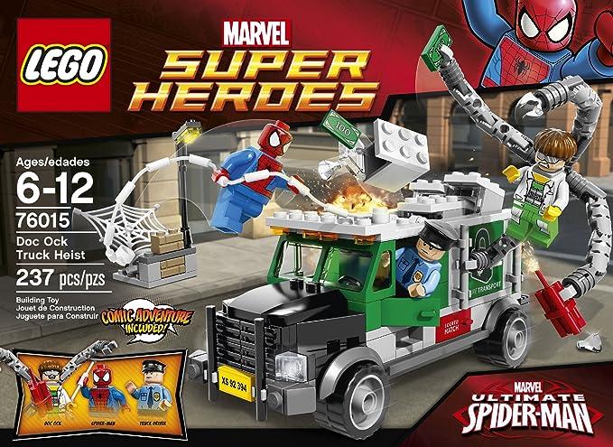 Set 76015 LEGO Super Heroes Truck Driver Security Guard MiniFigure