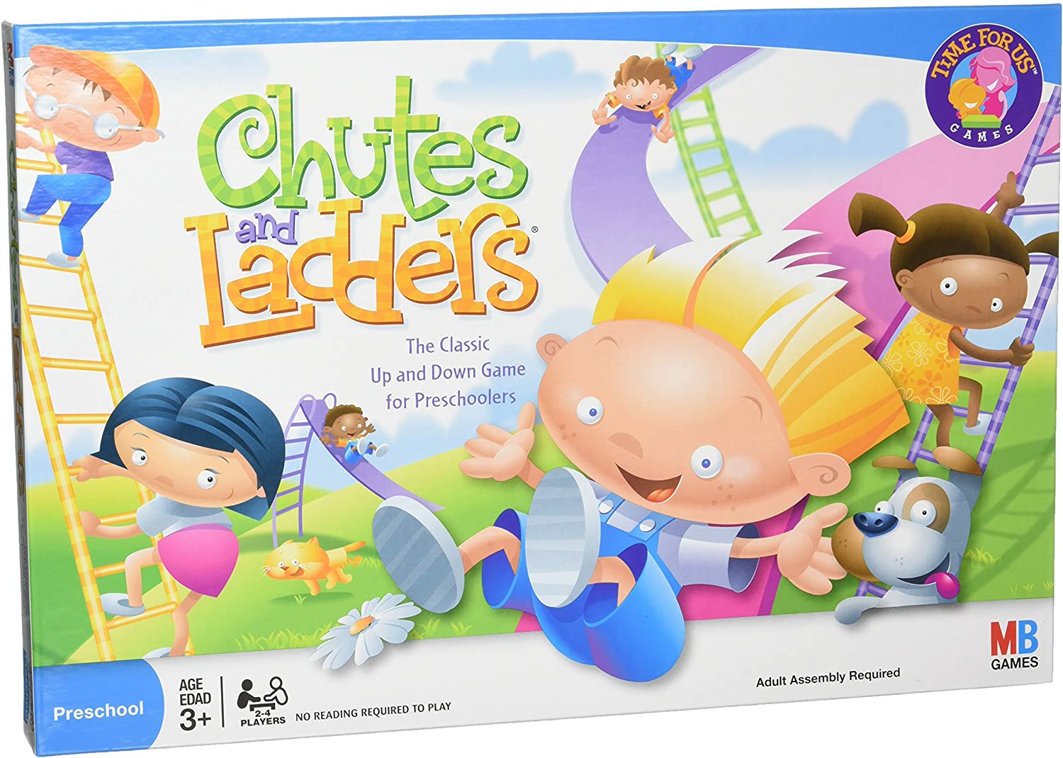 Best Card and board games for 6 year olds featured by top Seattle lifestyle blogger, Marcie in Mommyland: Chutes and Ladders